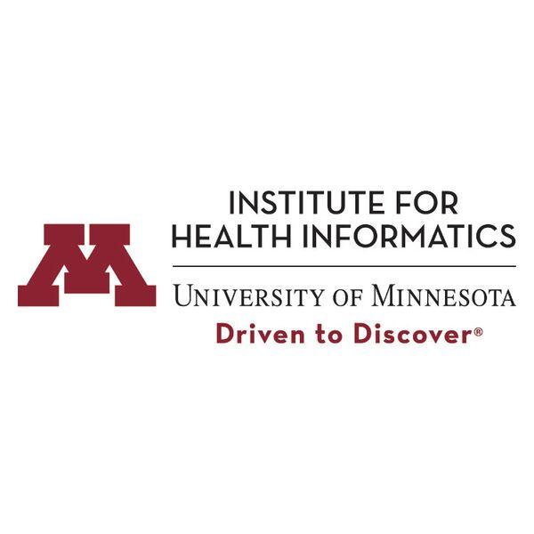 University of Minnesota – Institute for Health Informactics